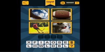 4 Pics 1 Word Construct Game Template