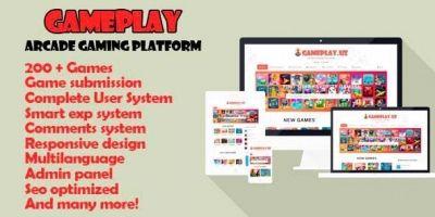 Gameplay - Responsive Arcade Gaming Platform Scrip