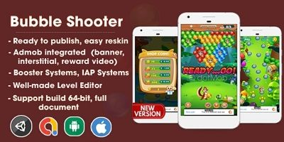 Bubble Shooter - Unity Template Project