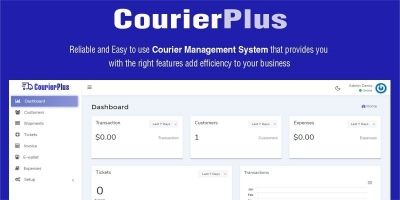 CourierPlus - Courier Management System