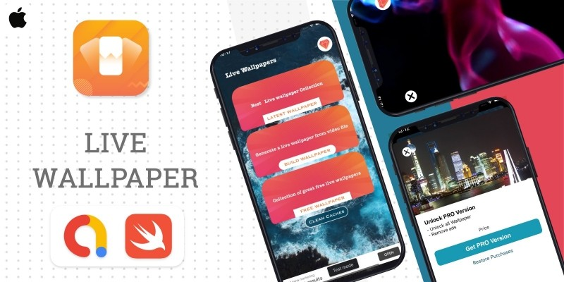 iLive Wallpaper - iOS Source Code