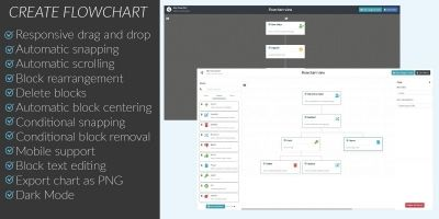 HTML JS Flowchart Editor
