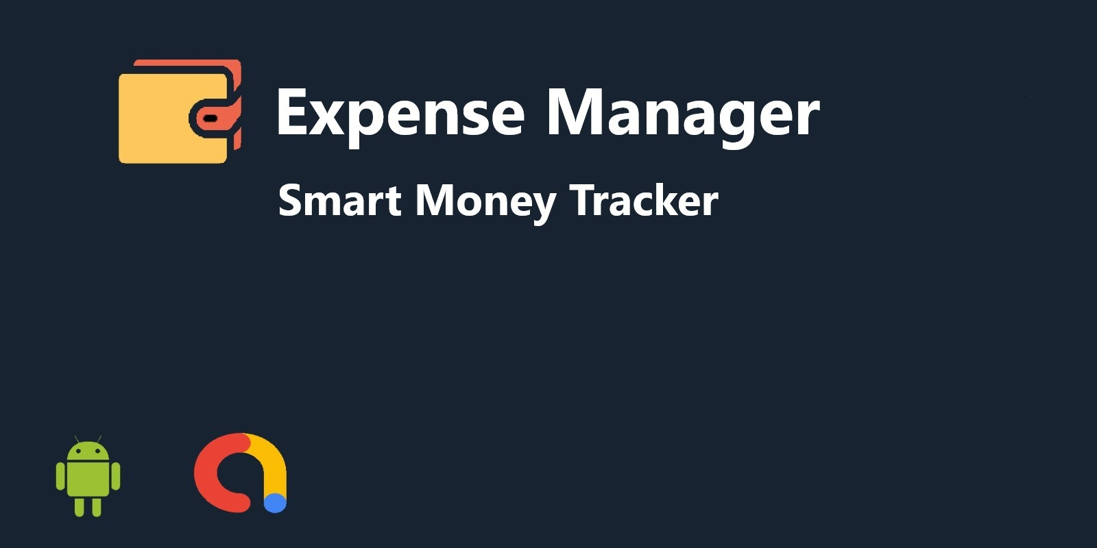 Expense Manager Android App Source Code