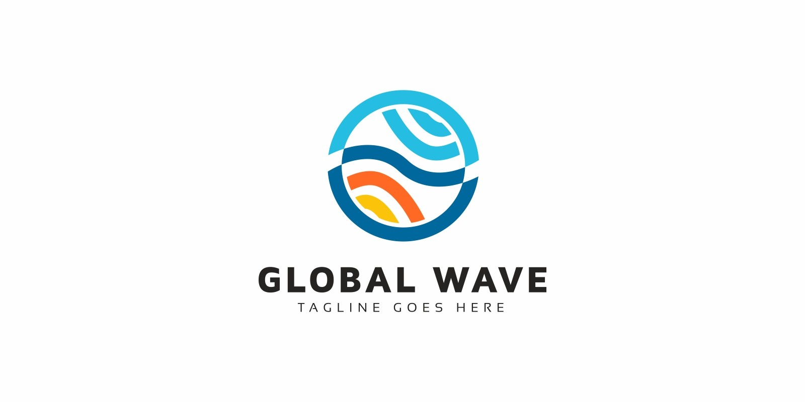 Global Wave Logo