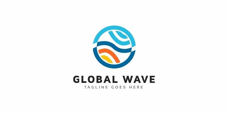 Global Wave Logo