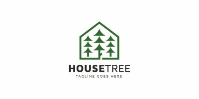 House Tree Logo