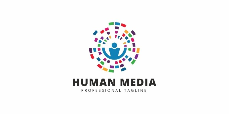 Human Media Logo