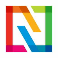 Infinity Square Colorful Logo