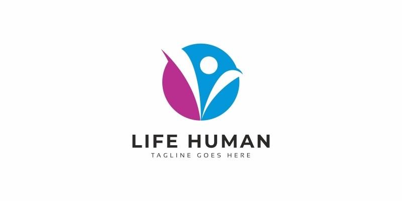 Life Human Logo