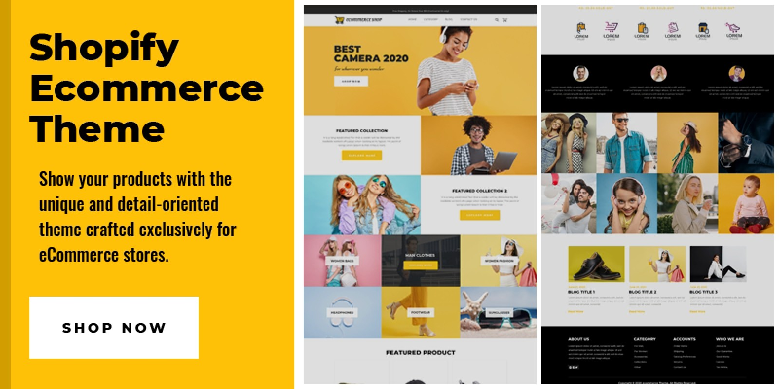 Shopify Ecommerce Theme
