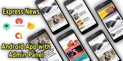 Express News App Multipurpose Android Template