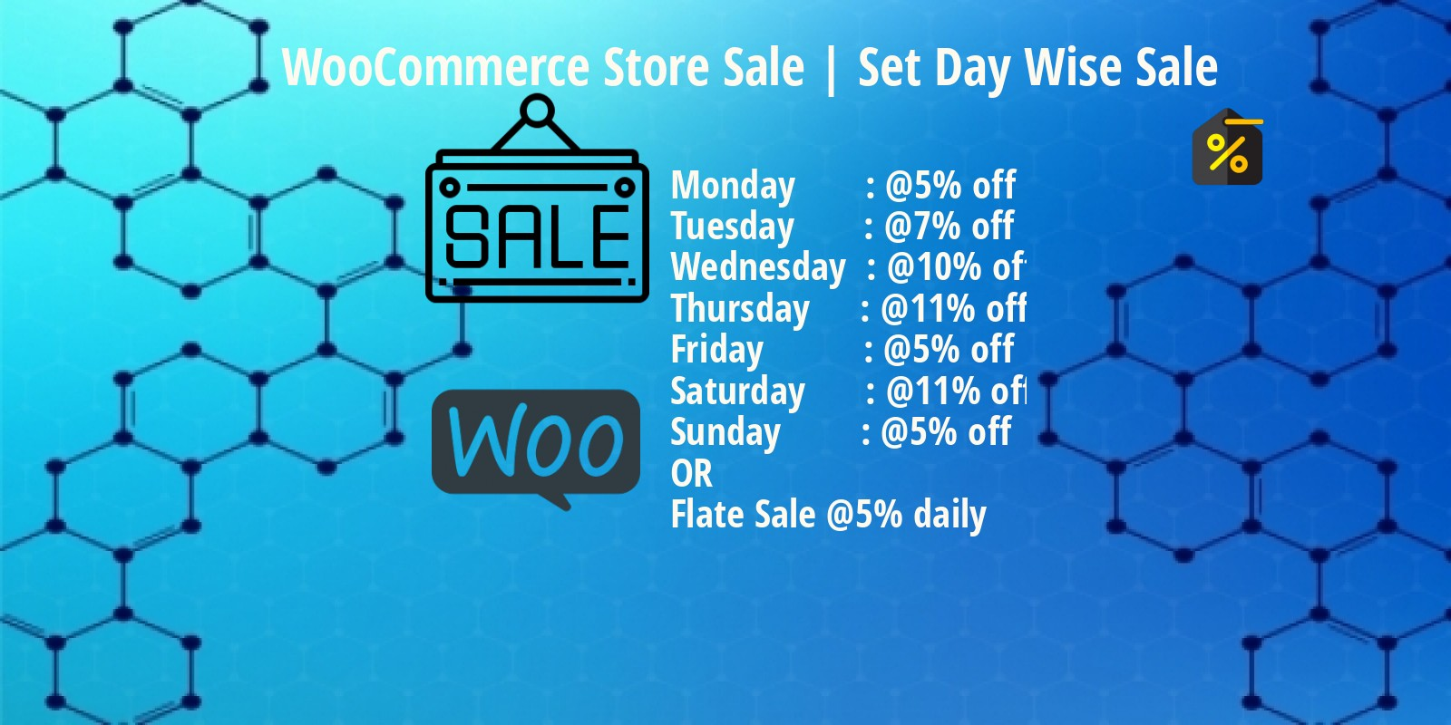 WooCommerce Store Sale Plugin