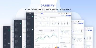 Dashify - Responsive Bootstrap 4 Admin Dashboard