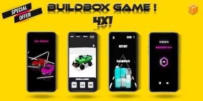 Buildbox Game Pack 4 Games