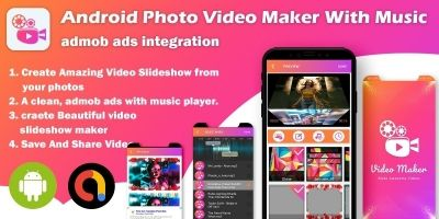 Android Photo Video Maker With Music