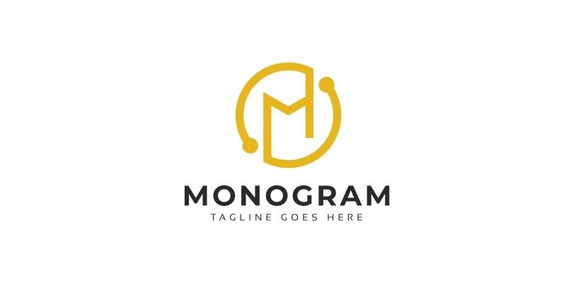 Monogram M Letter Logo