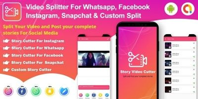Video Splitter - Story Cutter for Social Media And