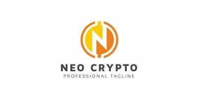 Neo Crypto N Letter Logo