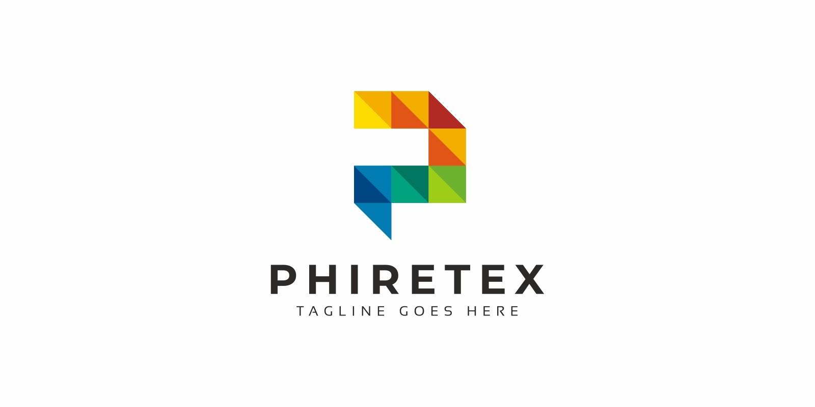Polygon Colorful P Letter Logo