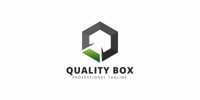 Quality Box Q Letter Logo