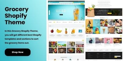 Shopify Grocery Theme