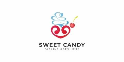 Sweet Candy Logo