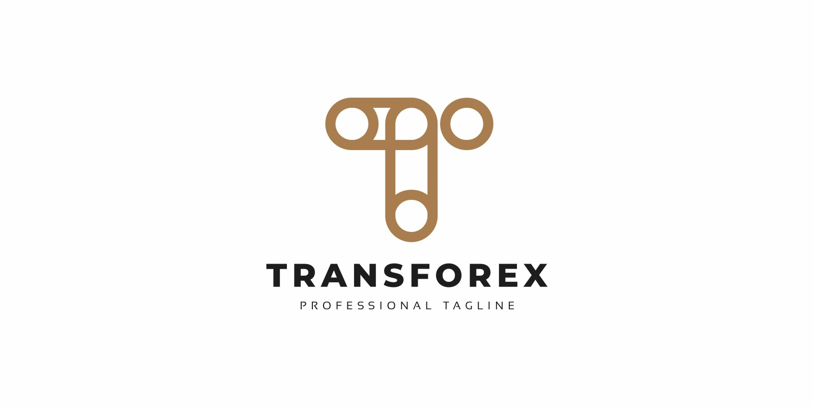 Transforex T Letter Logo