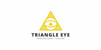 Triangle Eye Logo