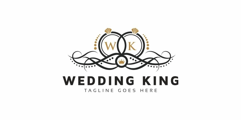 Wedding King Logo