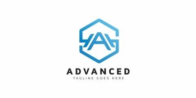 Advanced A Letter Logo