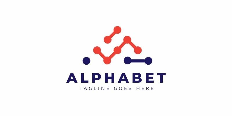 Letter A Tech Logo