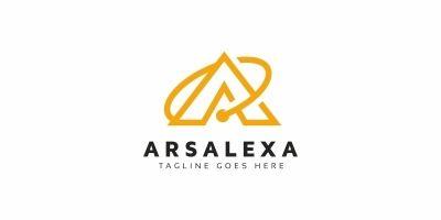 Arsalexa A Letter Logo