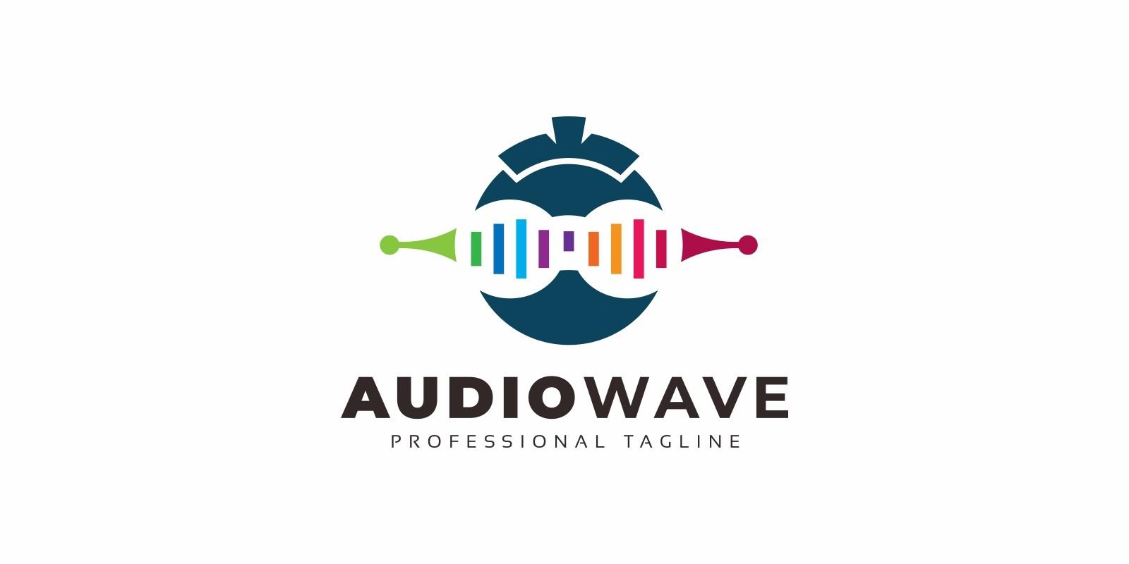 Audio Wave Logo