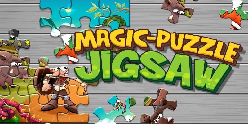 Magic Puzzle Jigsaw - Unity Source Code