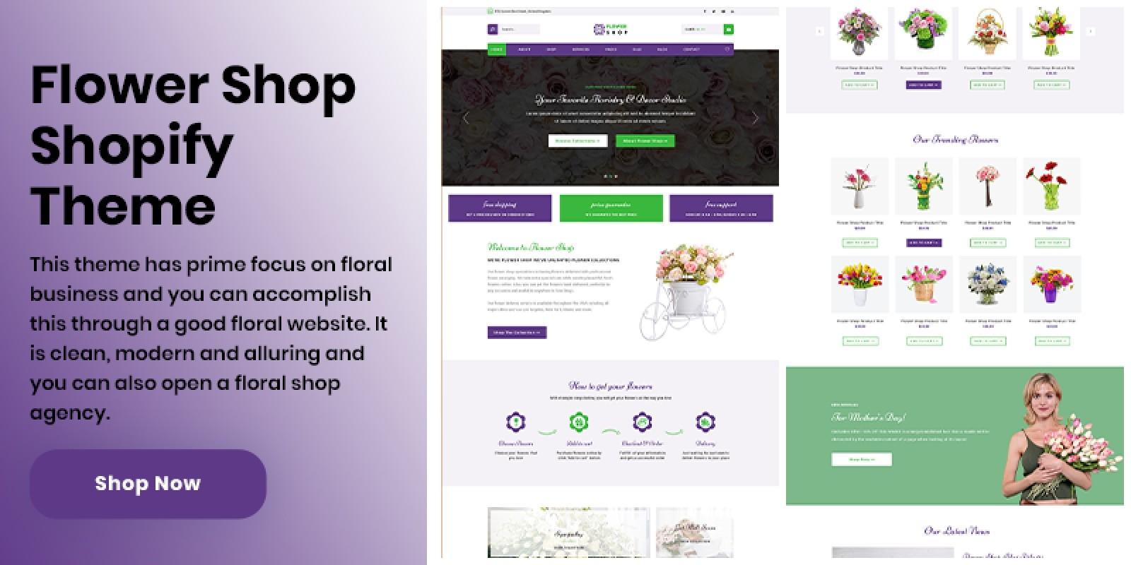 Shopify Flower Shop Theme