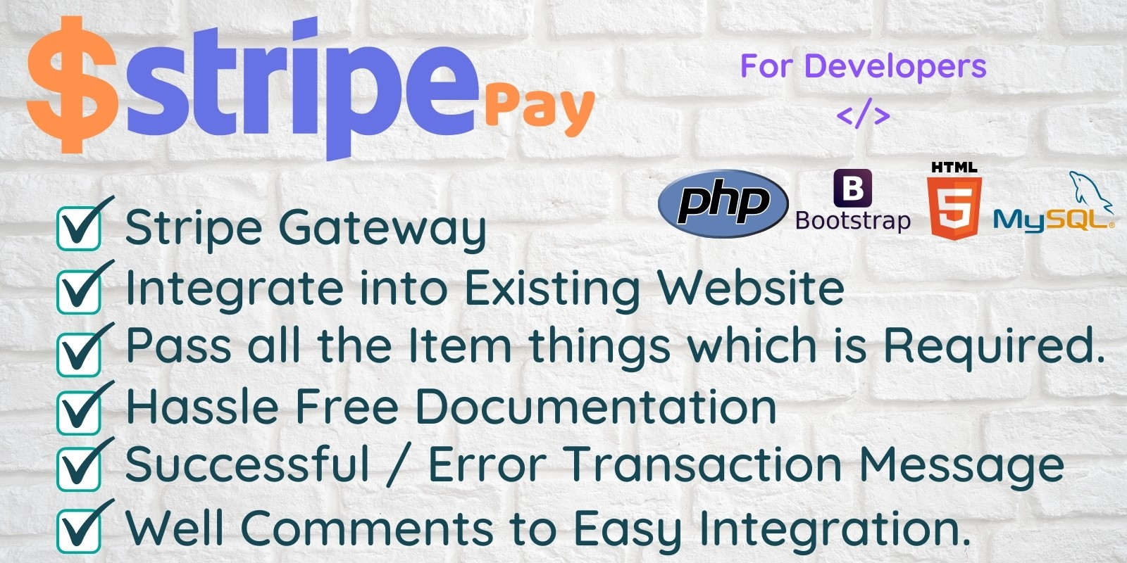 Stripe Pay for PHP Developers