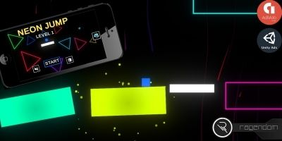 Neon Jump - Complete Unity Game