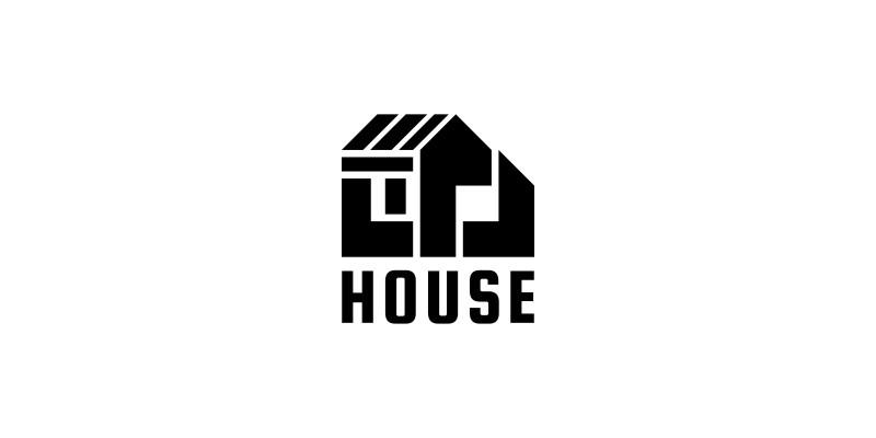 Letter M - House Logo