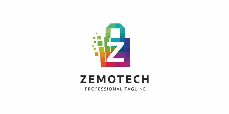 Z Letter Colorful Logo