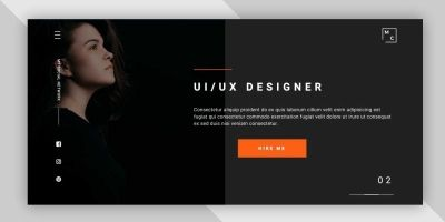 Mayaclay - Onepage HTML Personal Portfolio