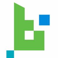 B Letter Pixel Logo