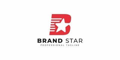 Brand Star B Letter Logo