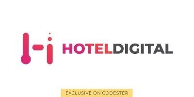 Hoteldigital Logo Template