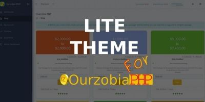 Lite Theme For Ourzobia PHP