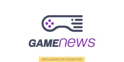 Gamenews Logo Template