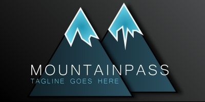 Mountainpass - Logo Template