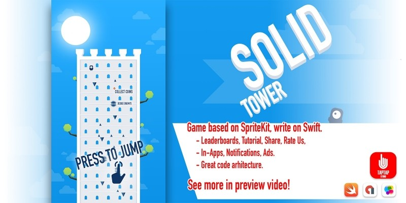 Solid Tower - iOS App Source Code