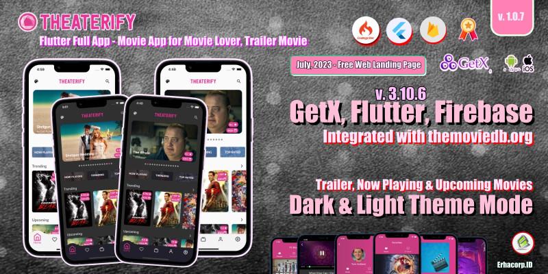 Theaterify - Flutter App Template