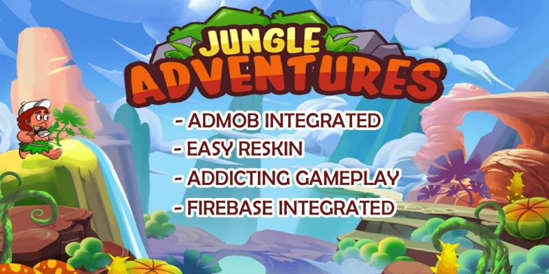 Jungle Adventures -  Complete Unity Project