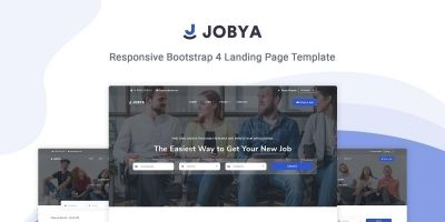 Jobya - Job Board And Job Listing HTML5 Template